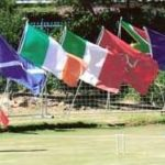 Flags at Opening Ceremony
