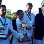 Winners: Ahmed Nasr & runner-up Reg Bamford