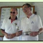 Open Singles Winner Dave Mundy & Runner-up Lionel Tibble