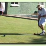 Bob Stephens in Handicap singles final