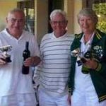 Open Doubles Winners: David Hopkins & Carole Jackson