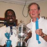 Victor Dladla (Winner) AC Open Singles & Chris Wakeham (Runner-Up)