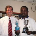 Peter Warren of Warwick Wealth with Victor Dladla