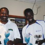 Thomas More & Alfred Makhubo of CCJ - Winners of GC Open Doubles