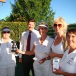 Winners – Anne Prees and Lesley van Vliet (FHCC) Runners up – Jenny Ball and Jill Newton (SWCC)