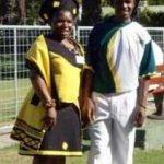 Victor Dladla & wife