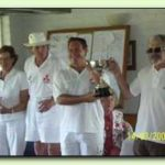 Open Doubles: Winners William Louw and Jamieson Walker Runners-up Richard & Mary Knapp
