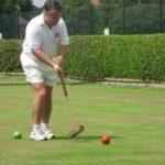 Chris Clarke in action