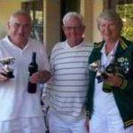 Open Doubles Winners: David Hopkins & Carole Jackson
