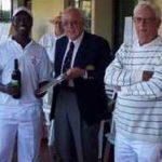 Open Singles Winner: Meshack Mazibuko