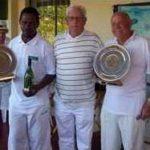 Handicap Doubles Winners: Victor Dladla & John Hedding