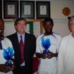 Victor Dladla, Peter Warren, Alfred Makhubo   & Clive Coulson