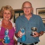 Anne & Les Weiss - Winners of GC Restricted Handicap Doubles