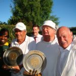Winners – Robin Howarth and Paul McCreadie (FHCC) – Runners up – John Hedding (Zoo) and Victor Dladla (CCJ)